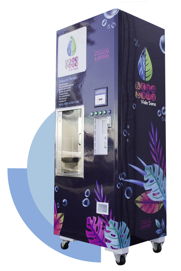 Alkaline water vending machines
