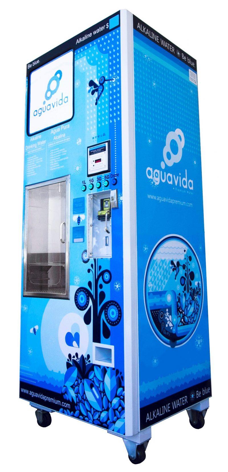 alkaline water vending machine